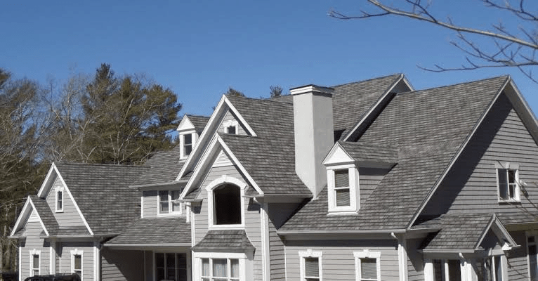 New residential roof installation - Residential roofing