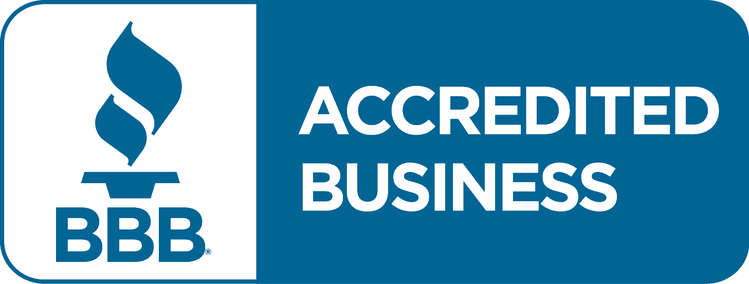 BBB Accredited Business logo - Free roof estimate