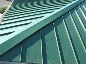 In house metal roof fabrication - Commercial roofing